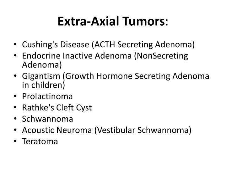 Extra-Axial