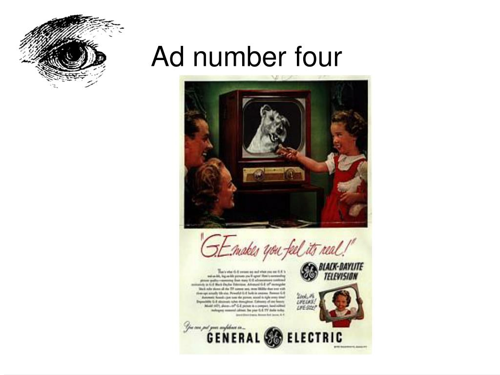 Ad number four