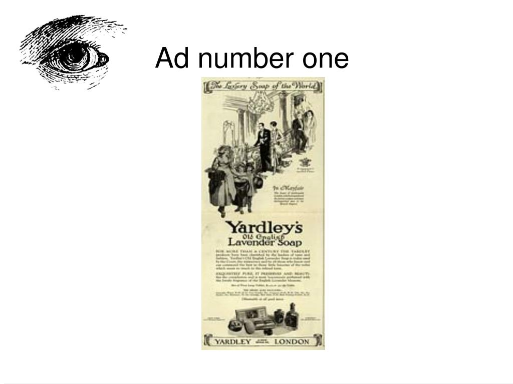 Ad number one