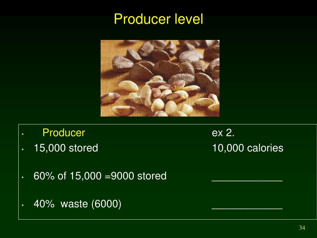 Producer level