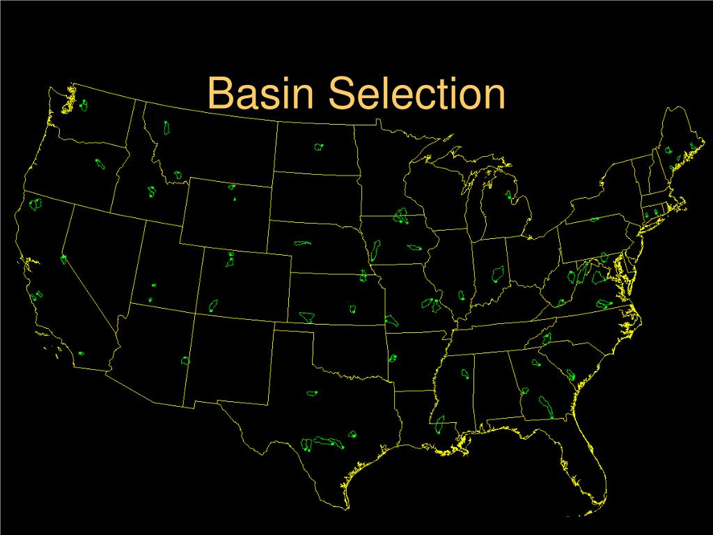 Basin Selection