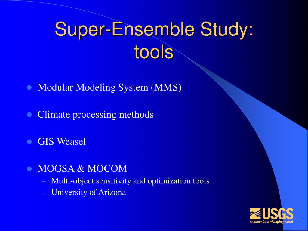 Super-Ensemble Study: