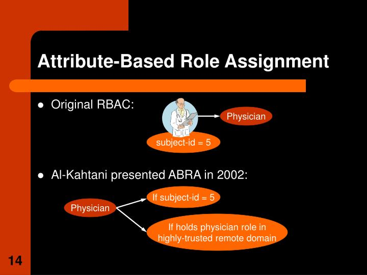 Attribute-Based Role Assignment