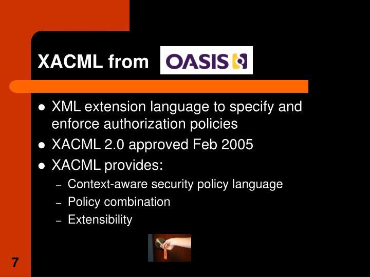 XACML from