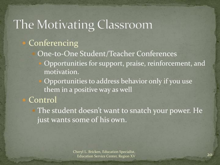 The Motivating Classroom