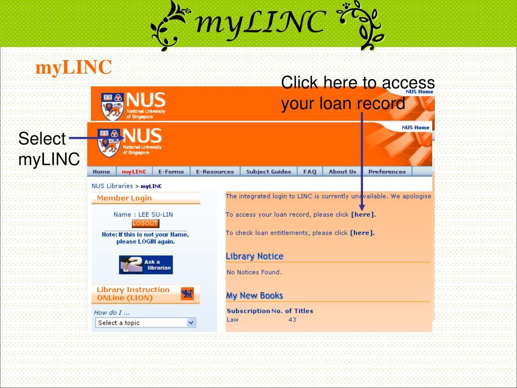 myLINC