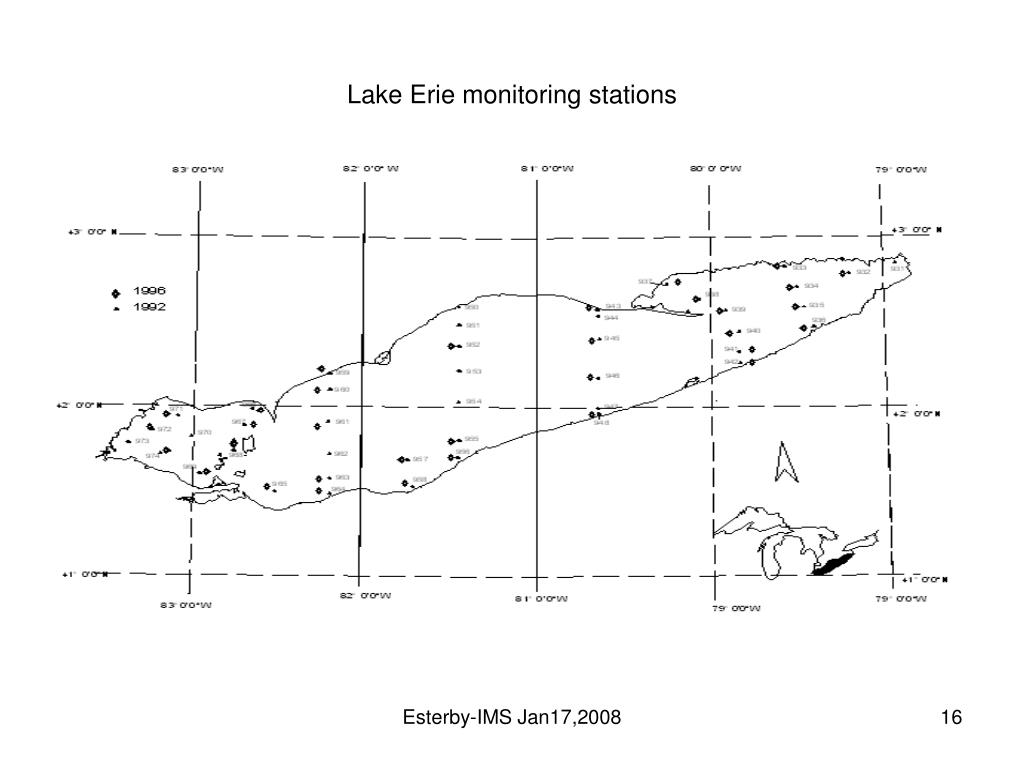 Lake Erie monitoring stations