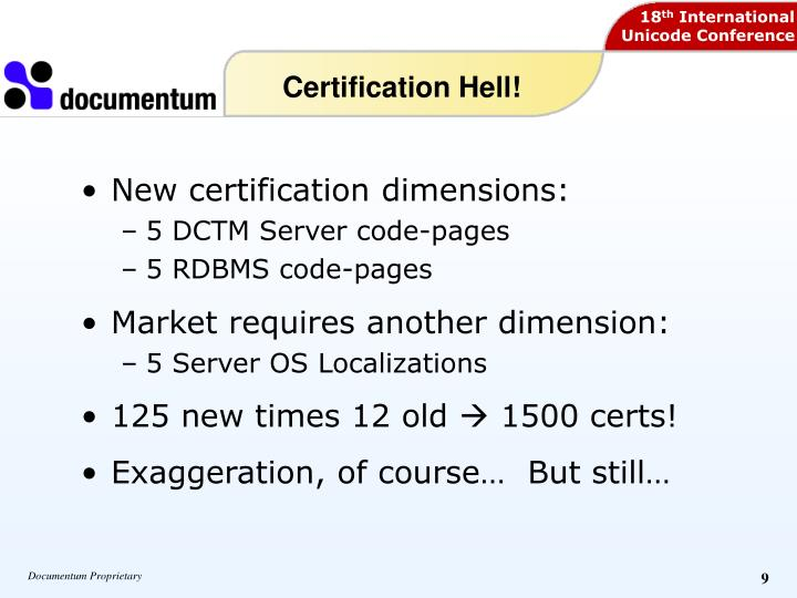 Certification Hell!