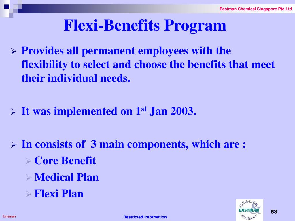 Flexi-Benefits Program