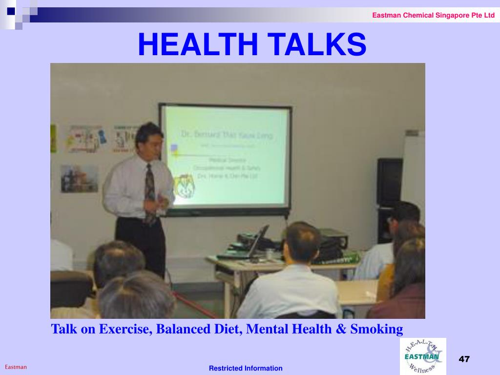 HEALTH TALKS
