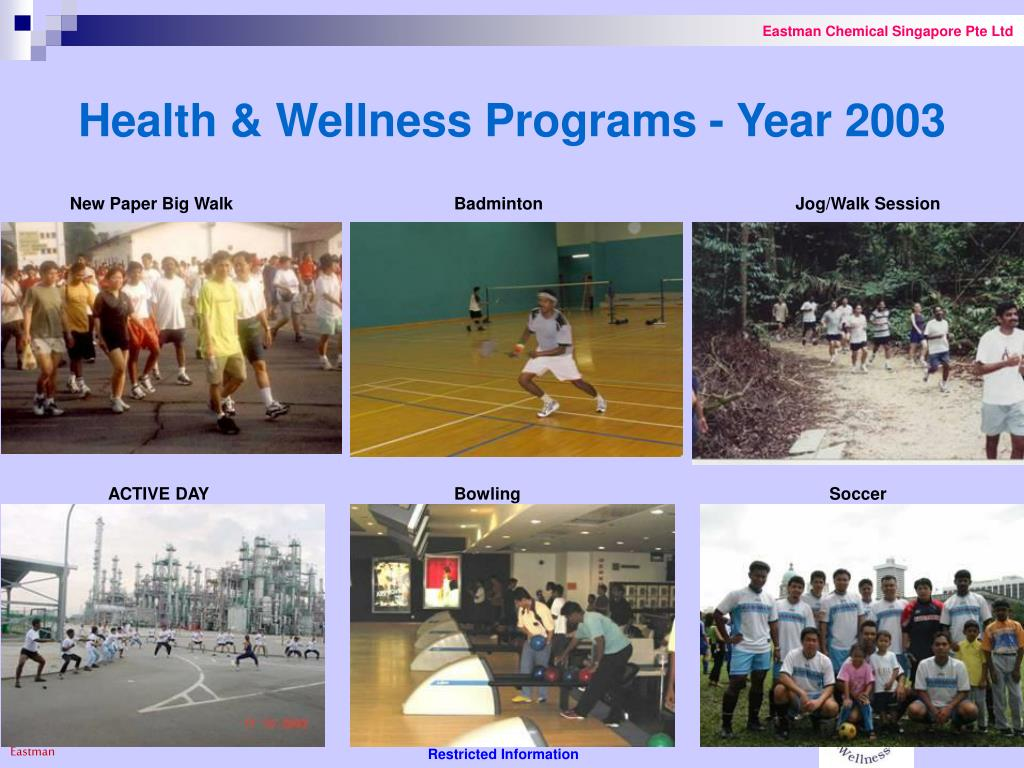 Health & Wellness Programs - Year 2003