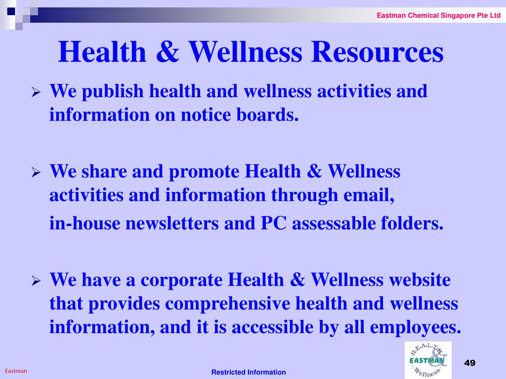 Health & Wellness Resources