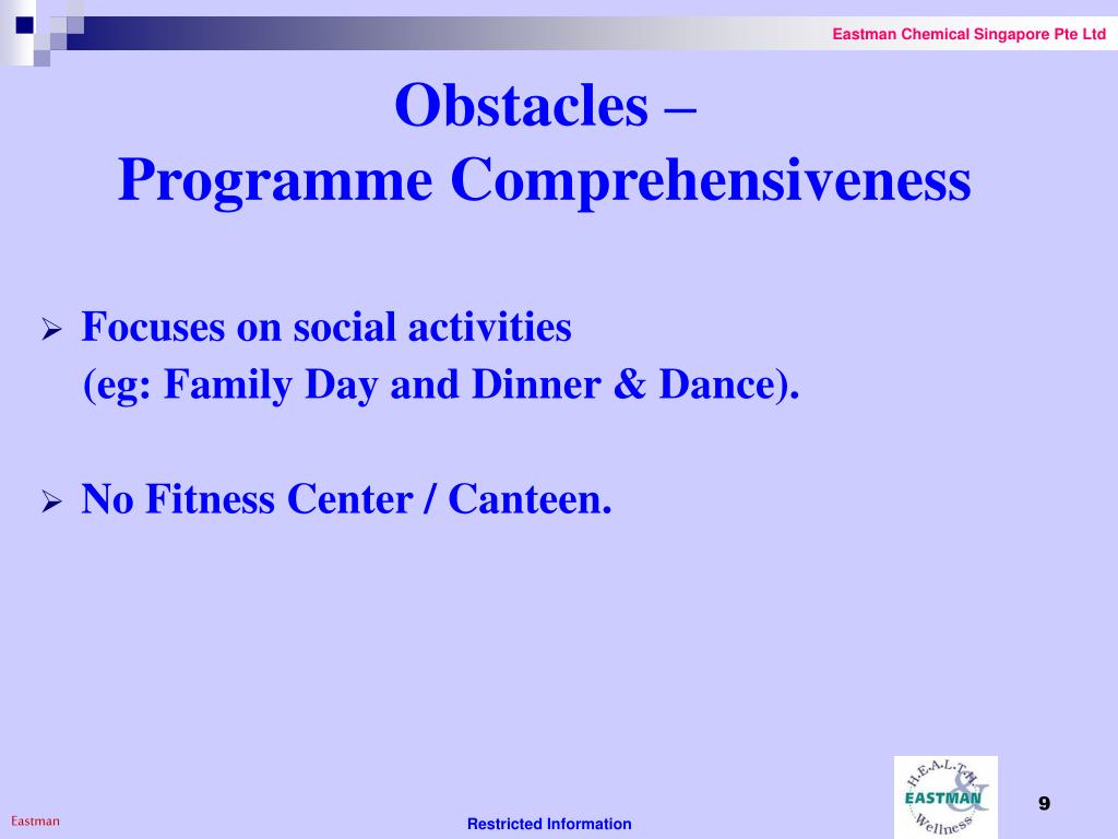 Obstacles –