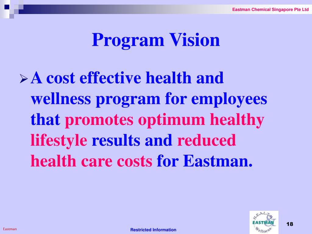 Program Vision
