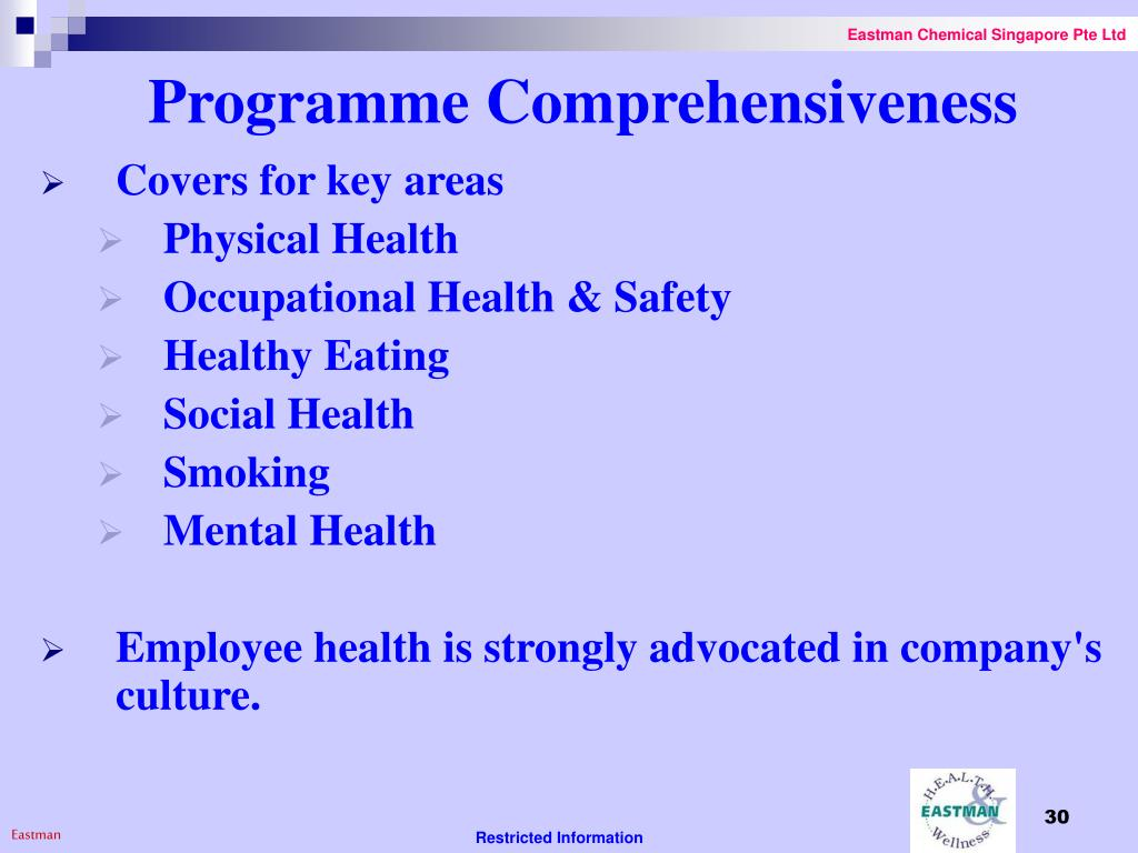 Programme Comprehensiveness
