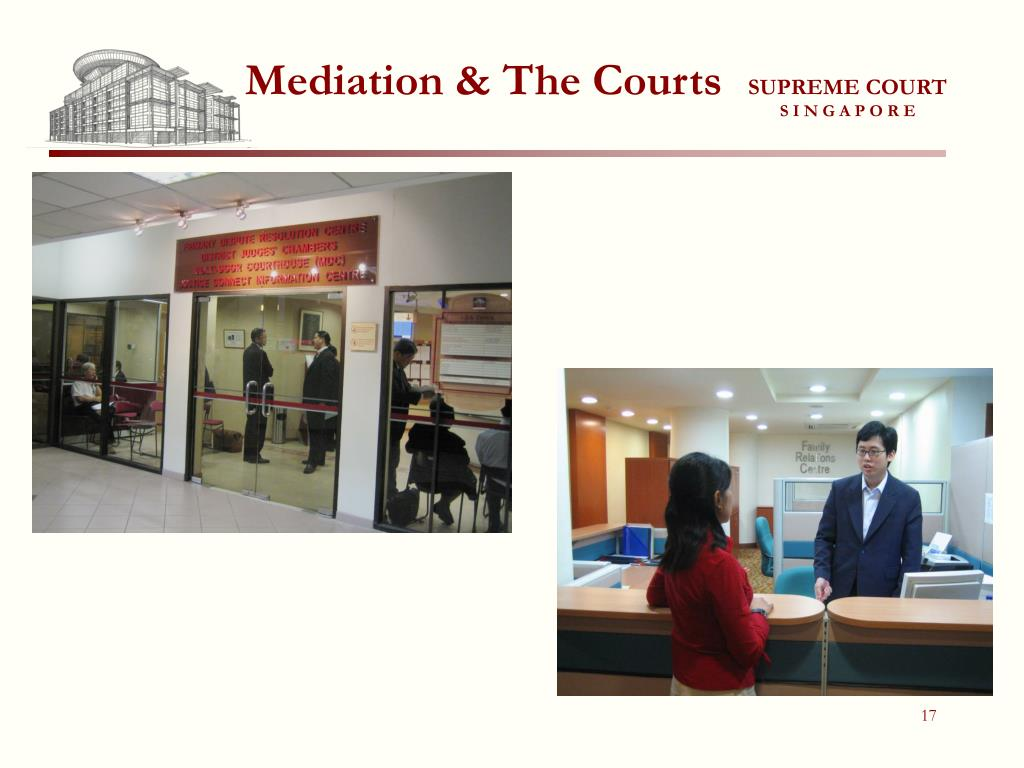 Mediation & The Courts