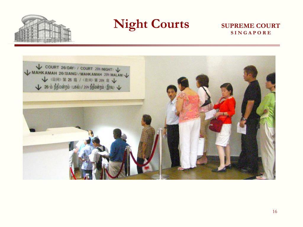 Night Courts