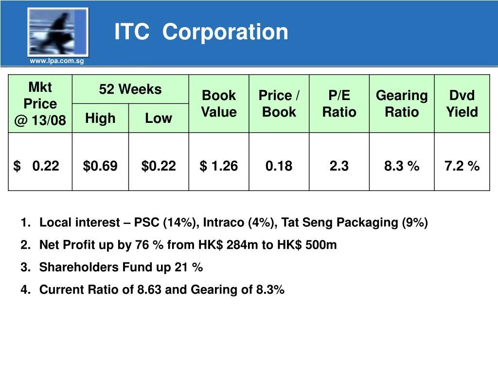 ITC  Corporation