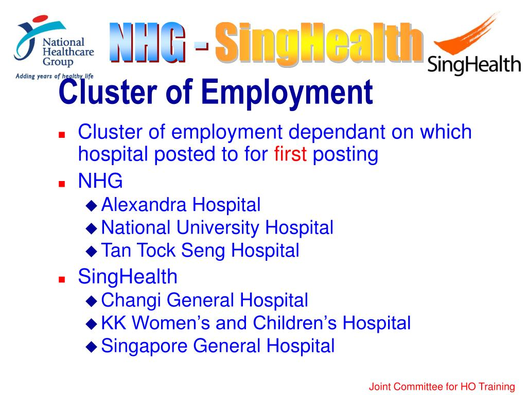 Cluster of Employment