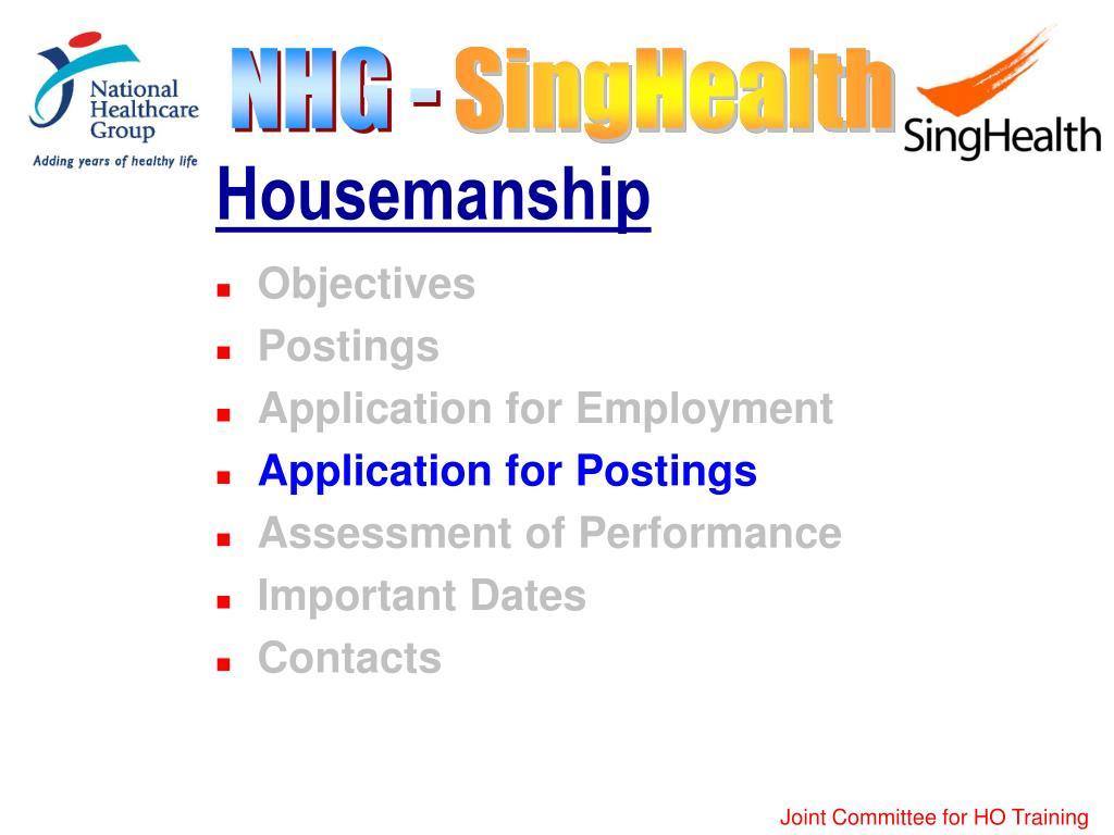 Housemanship