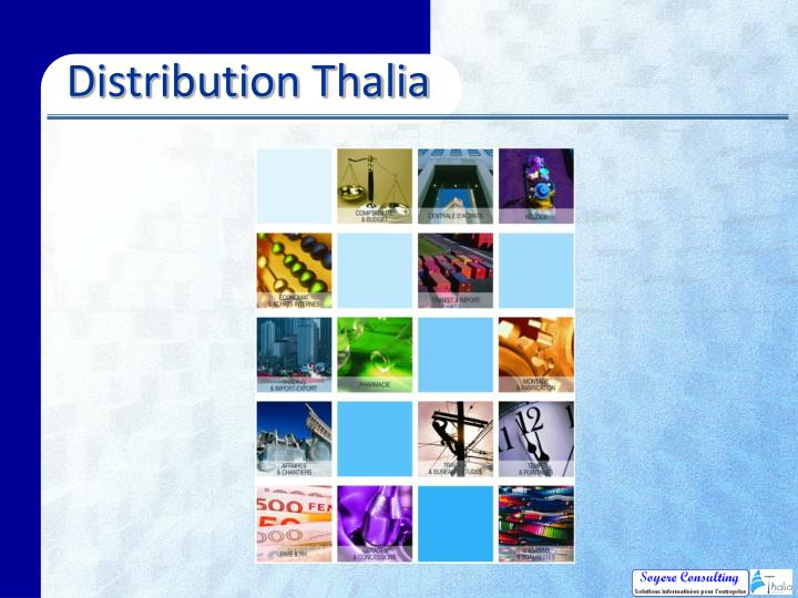 Distribution Thalia