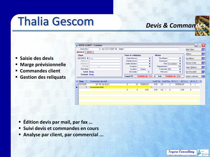 Thalia Gescom
