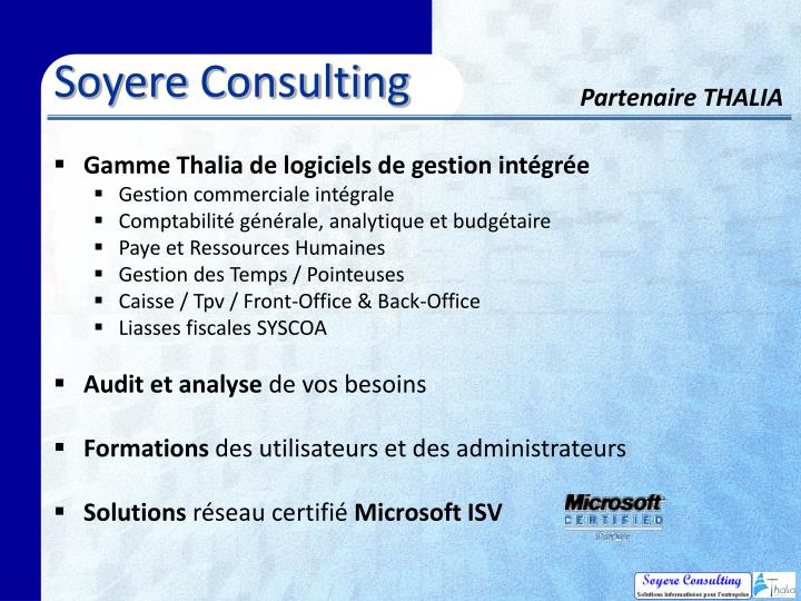 Soyere Consulting