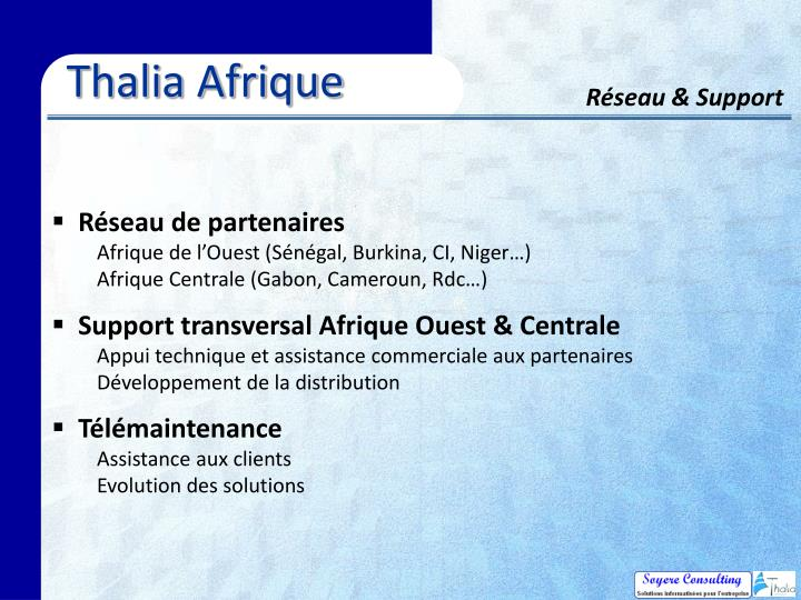 Thalia Afrique
