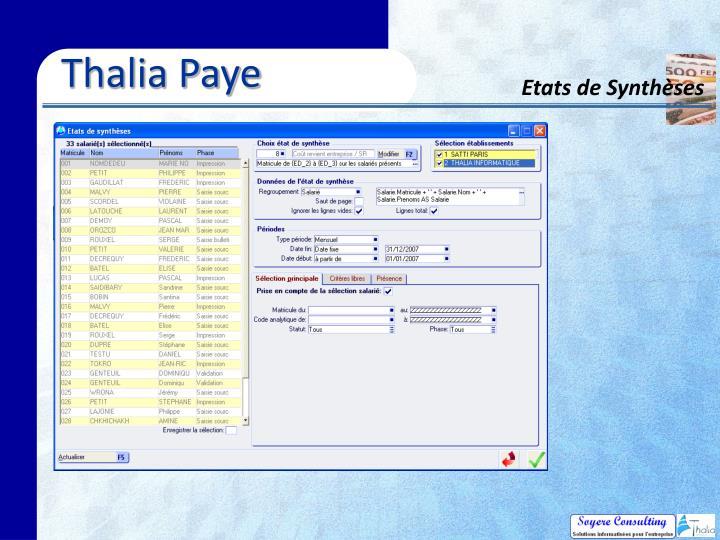 Thalia Paye
