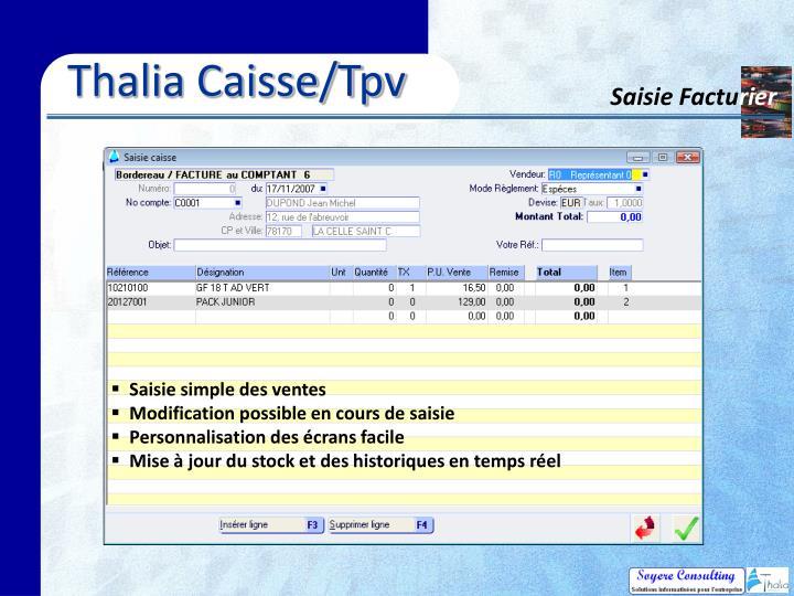 Thalia Caisse/Tpv