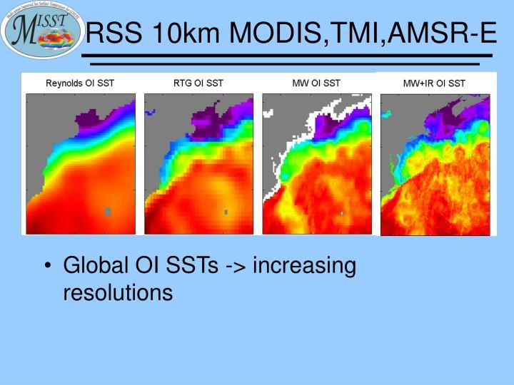 RSS 10km MODIS,TMI,AMSR-E
