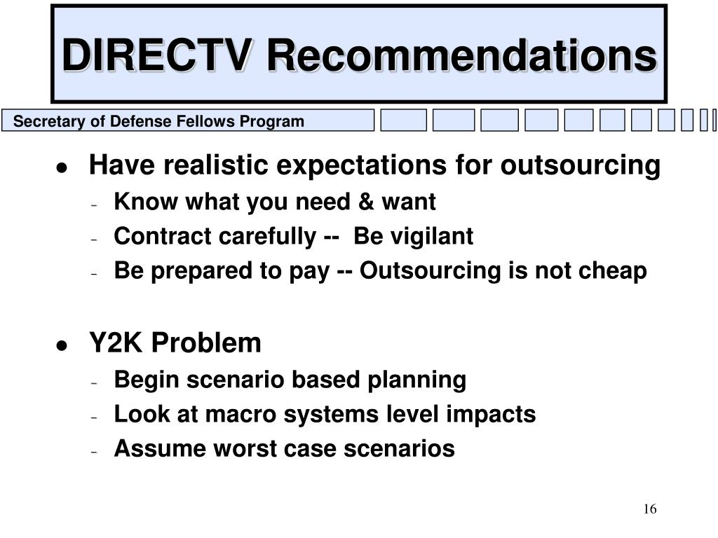 DIRECTV Recommendations