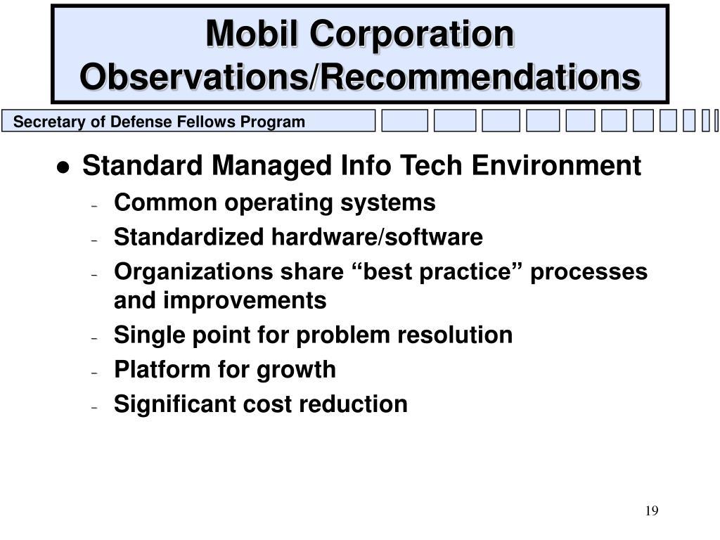 Mobil Corporation