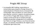 prog s abc group