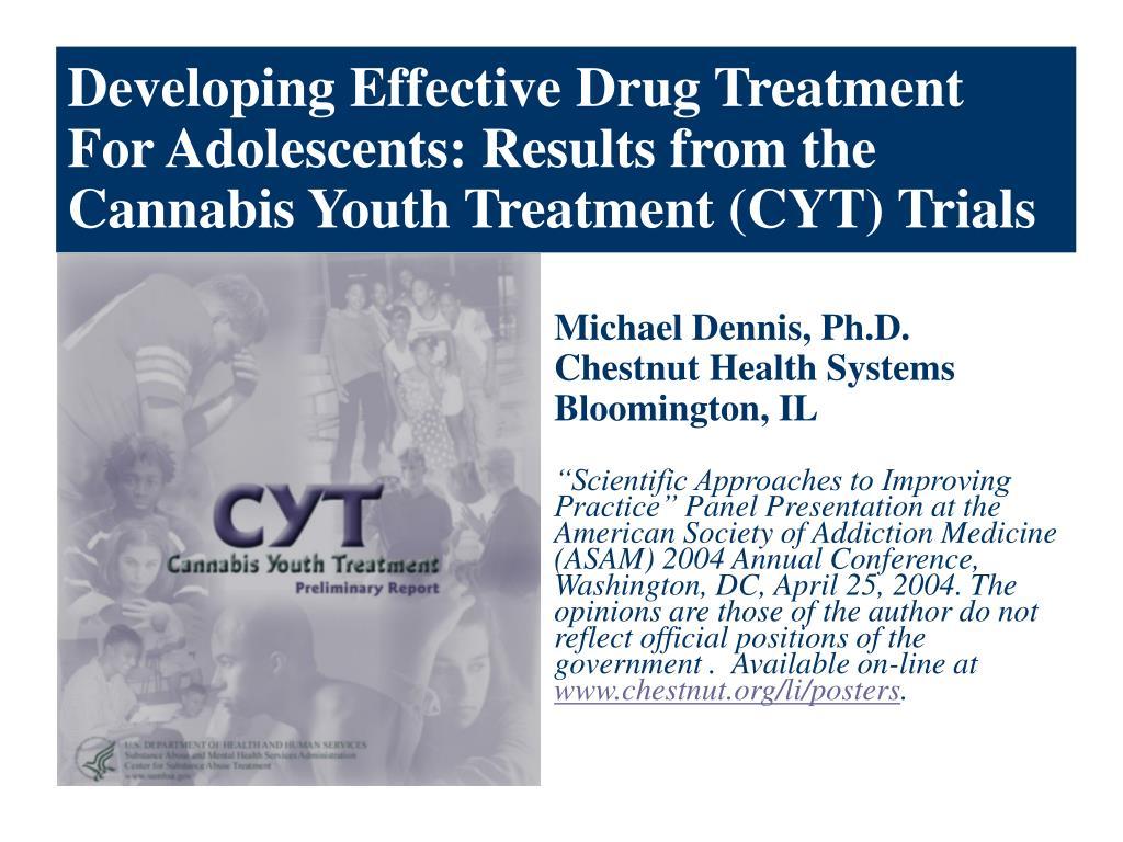 Developing Effective Drug Treatment