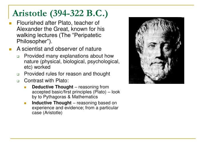 Aristotle (394-322 B.C.)