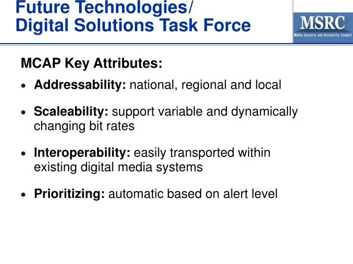 Future Technologies