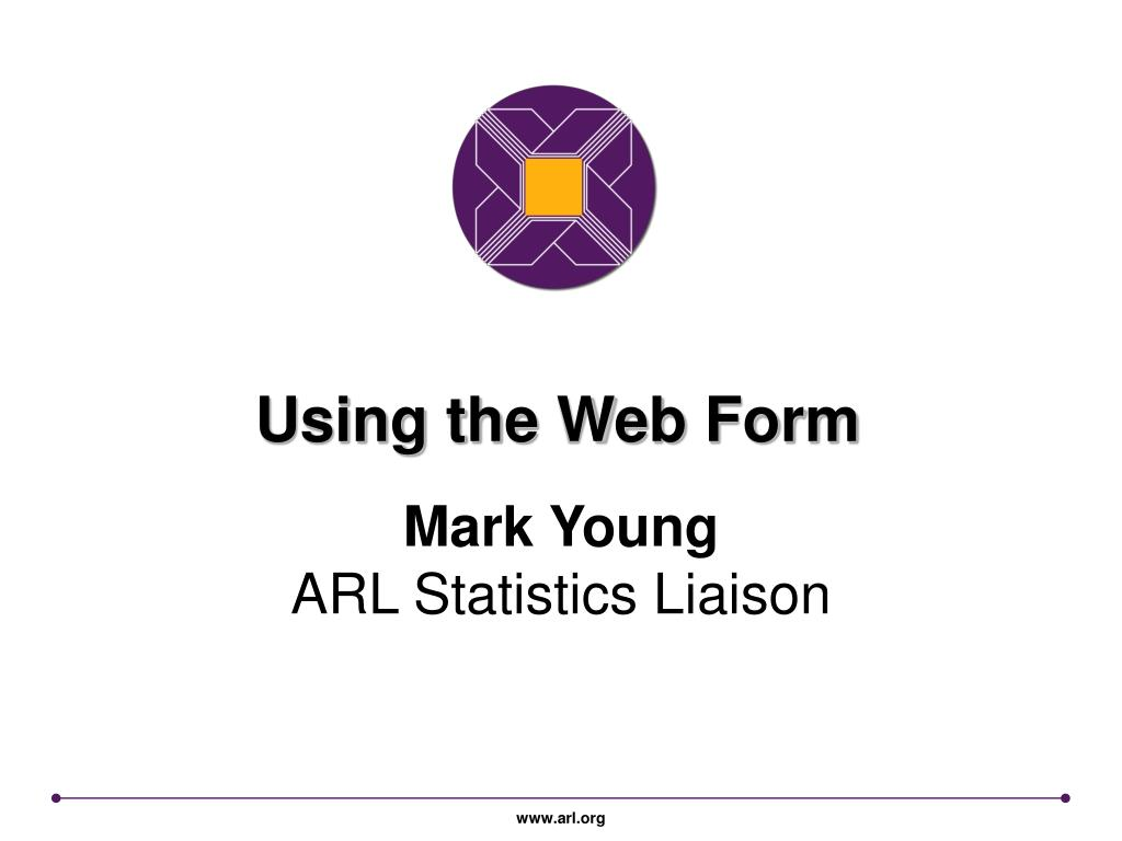 Using the Web Form