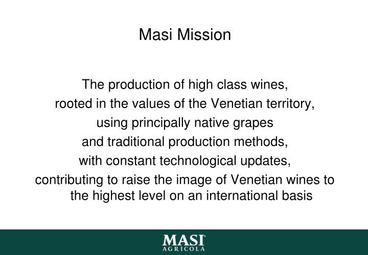 Masi Mission