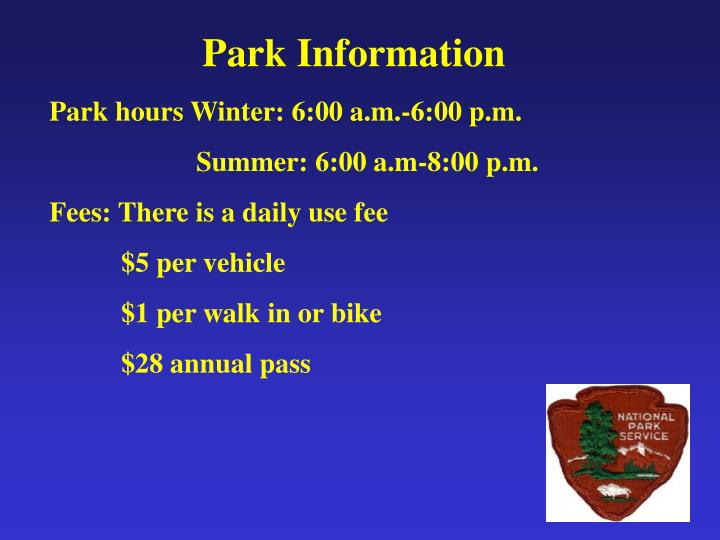 Park Information