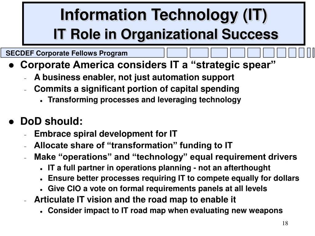 Information Technology (IT)