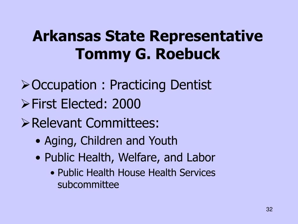Arkansas State Representative