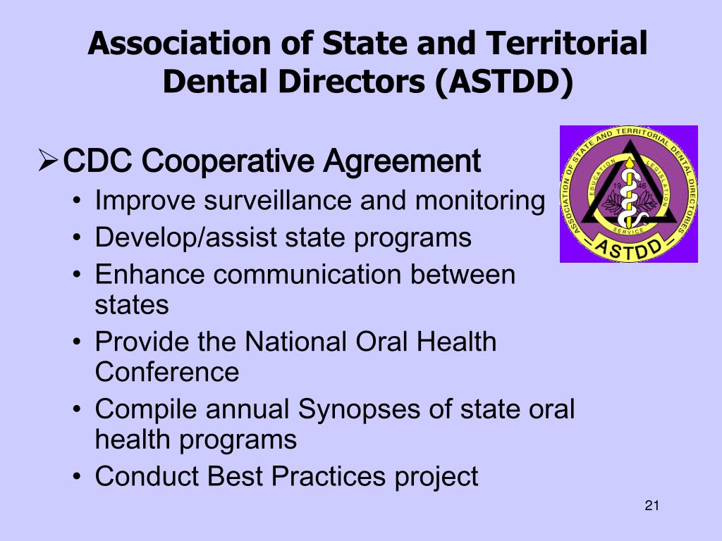 Association of State and Territorial Dental Directors (ASTDD)