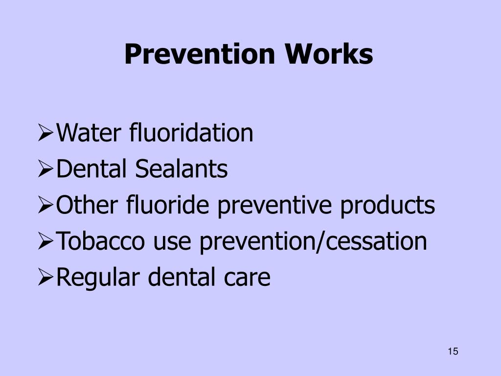 Prevention Works