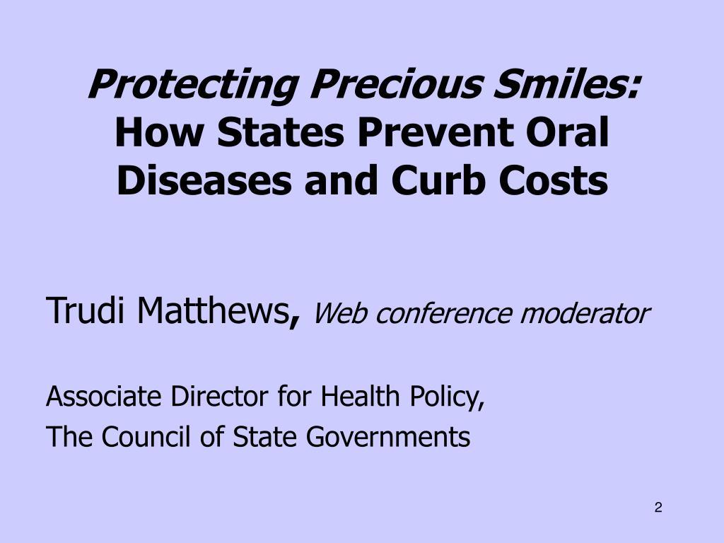 Protecting Precious Smiles: