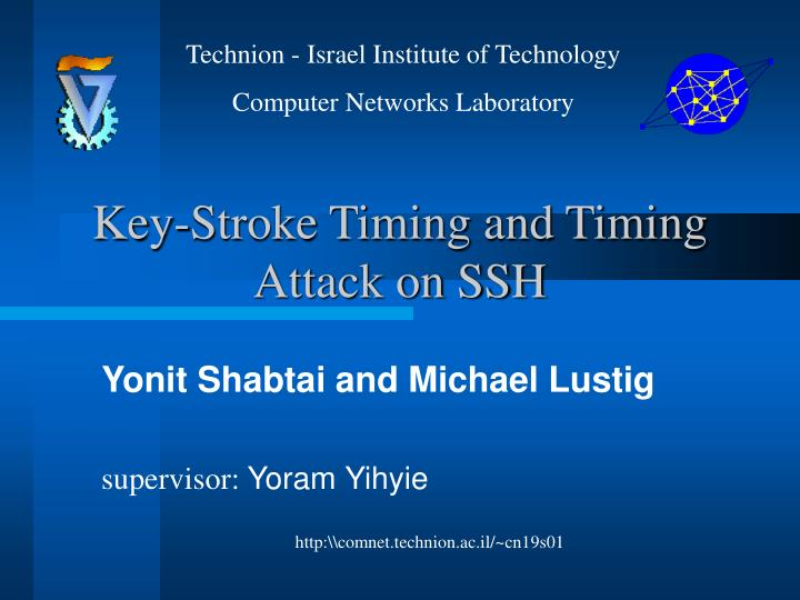 Key stroke timing and timing attack on ssh