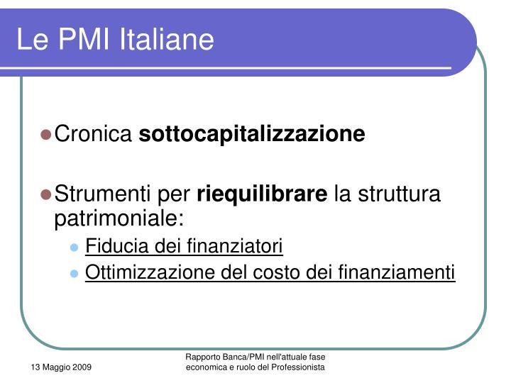 Le PMI Italiane
