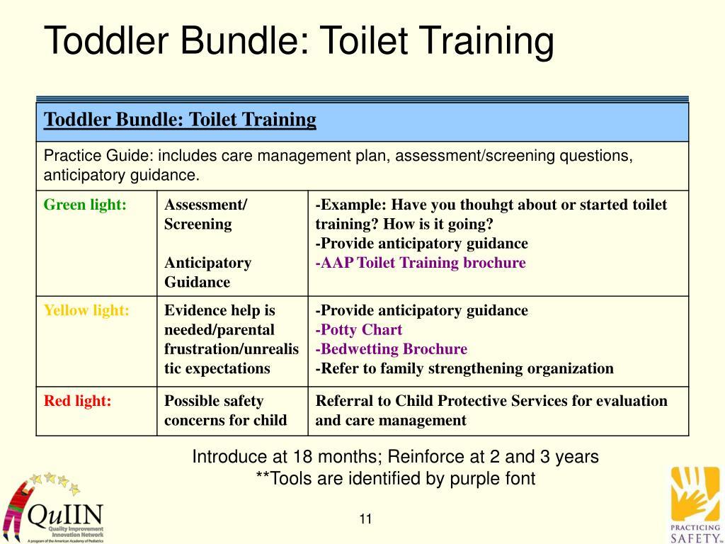 Toddler Bundle: Toilet Training