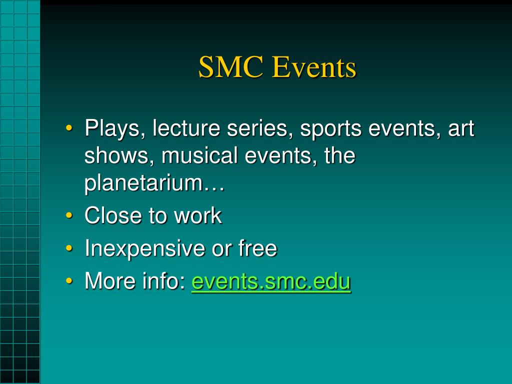 SMC Events