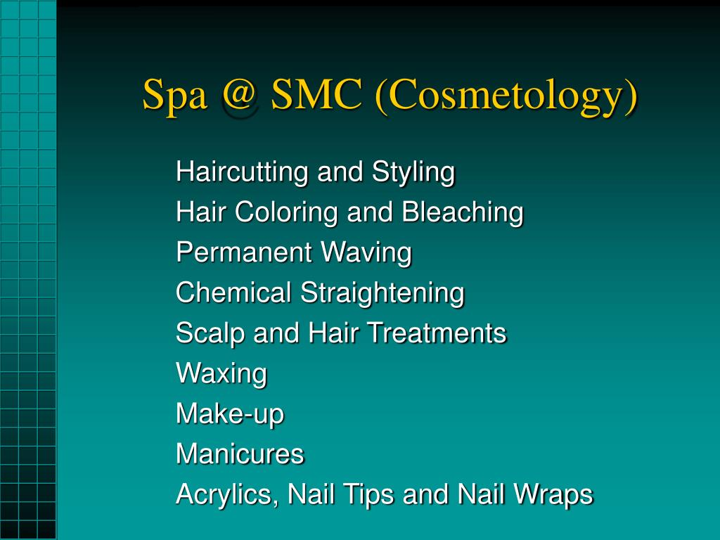 Spa @ SMC (Cosmetology)